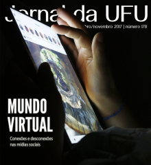 Internauta utilizando tablet
