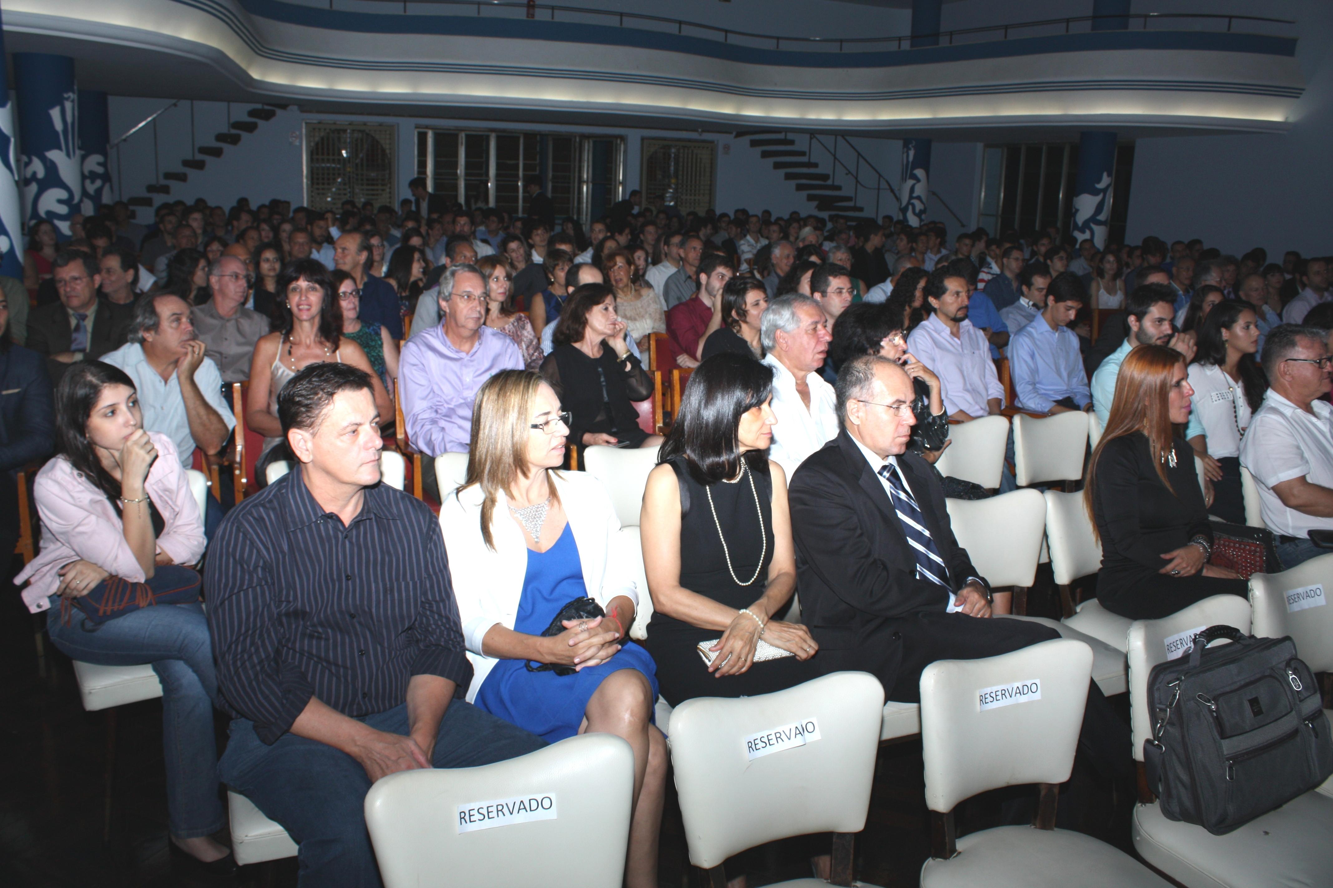 A cerimônia de comemoração ocorreu no dia 24 de abril (Foto: Gilberto Pereira)