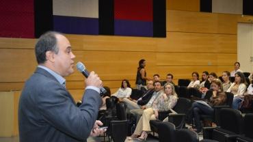 Aula inaugural do primeiro semestre letivo de 2014 do Programa de Pós-graduação em Educação (Fotos: Fabiano Goulart)