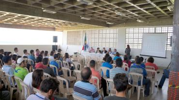 Recepção aos Ingressantes no Campus Monte Carmelo (Foto: Arquivo UFU Monte Carmelo)