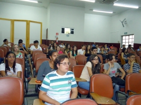 Recepção aos Ingressantes no Campus Patos de Minas (Foto: Arquivo UFU Patos de Minas)