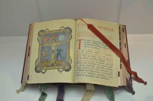 Peças expostas no Museu de Arte Sacra da Diocese de Uberlândia (foto: Milton Santos)